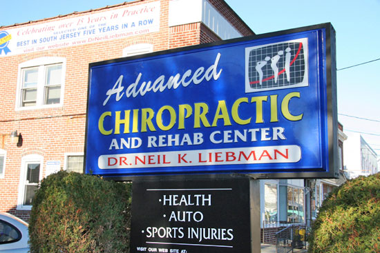 Dr. Neil Liebman's Advanced Chiropractic and Wellness Center is located in Pennsauken, South Jersey.