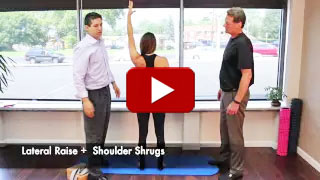 Dr. Neil Liebman's Advanced Chiropractic and Wellness Center is located in Pennsauken, New Jersey. Watch as Lateral Raise Shoulder Shrug is demonstrated in this YouTube video.