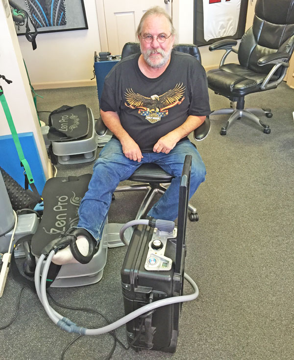 Dr. Neil Liebman uses PEMF Therapy at the Advanced Chiropractic and Wellness Center, located in Pennsauken, New Jersey.