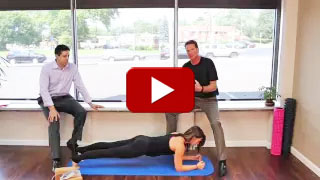 Dr. Neil Liebman's Advanced Chiropractic and Wellness Center is located in Pennsauken, New Jersey. Watch as Plank Pose is demonstrated in this YouTube video.