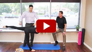 Dr. Neil Liebman's Advanced Chiropractic and Wellness Center is located in Pennsauken, New Jersey. Watch as Center Warrior 3 Pose is demonstrated in this YouTube video.