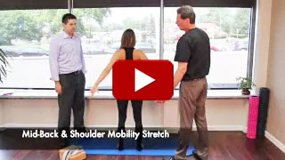 Dr. Neil Liebman's Advanced Chiropractic and Wellness Center is located in Pennsauken, New Jersey. Watch as Mid-back Shoulder Stretch is demonstrated in this YouTube video.