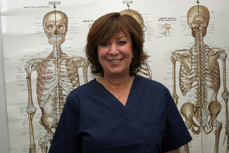 Sue works at Dr. Neil Liebman's Advanced Chiropractic and Wellness Center, located in Pennsauken, NJ.