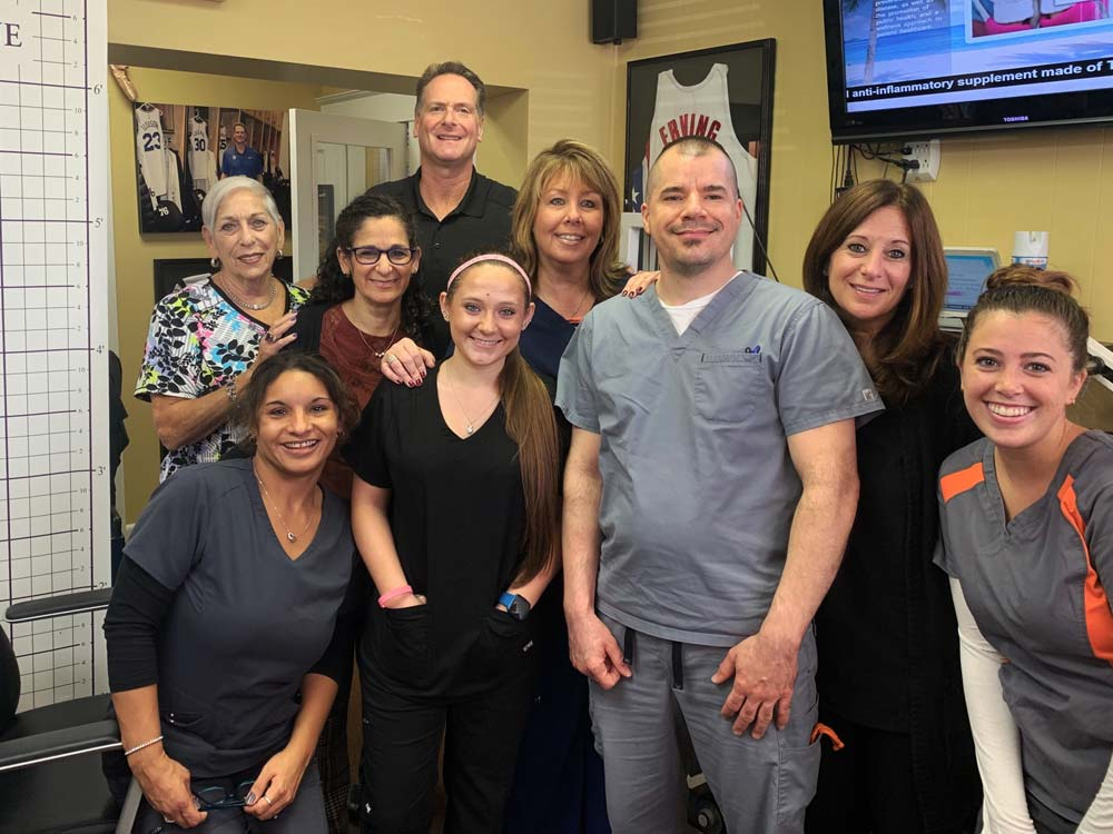 Dr. Neil Liebman's Advanced Chiropractic and Wellness Center is located in Pennsauken, New Jersey. Here is Neil and his staff.